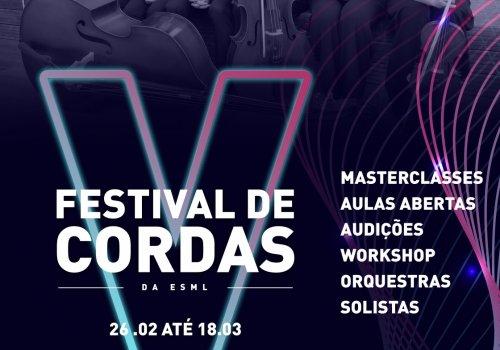 V Festival de Cordas da ESML