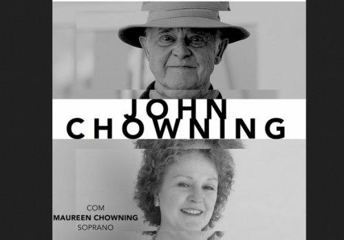 John Chowning + Maureen Chowning na ESML