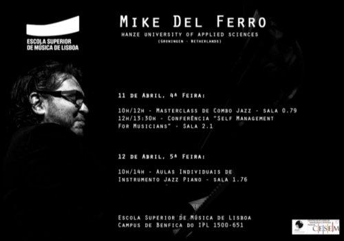 Mike del Ferro | Masterclass, Conferência e Aulas Individuais