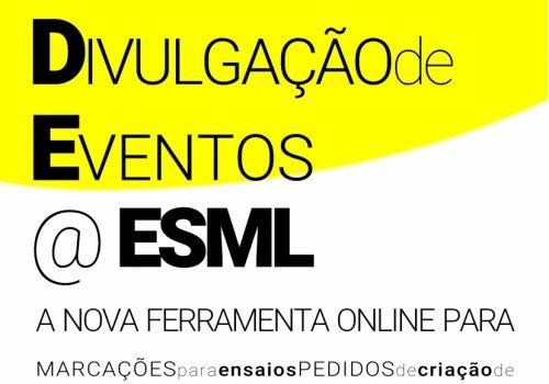 M.A.D.E.@ESML | Nova ferramenta para Marcações, Requisições e Projectos.