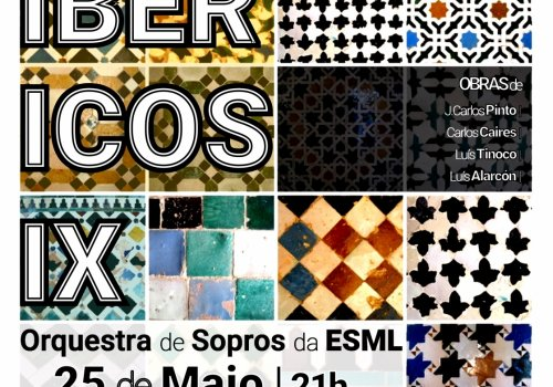 Concerto 'Sons Ibéricos IX' | Orquestra de Sopros da ESML