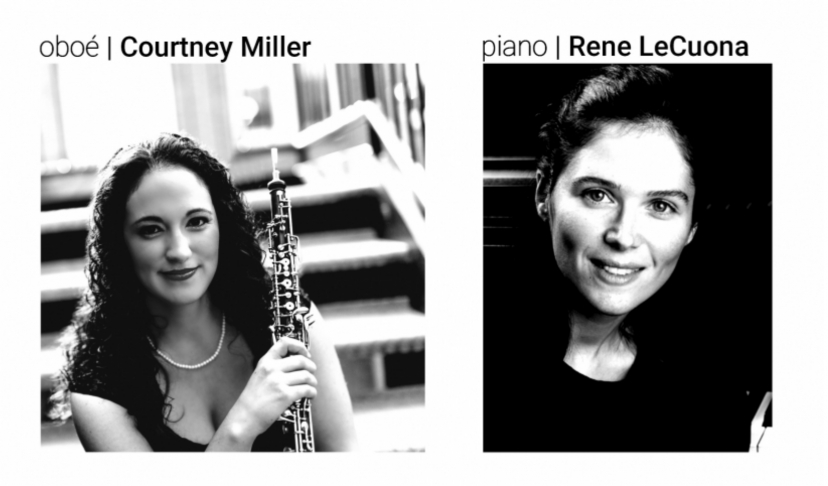 Masterclass com Courtney Miller e Rene LeCuona | 'Tour Perspectives: Oboe Music from Portugal'