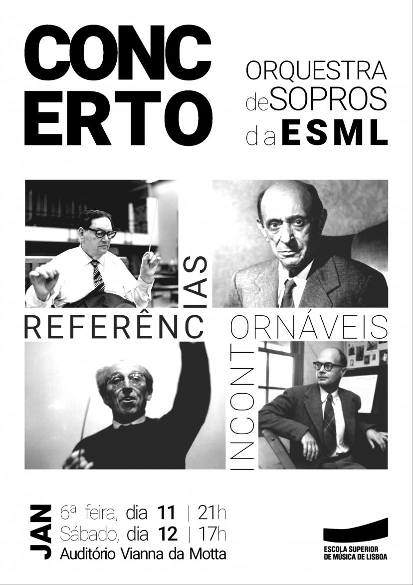 CONCERTO | Orquestra de Sopros da ESML - 'Referências Incontornáveis'