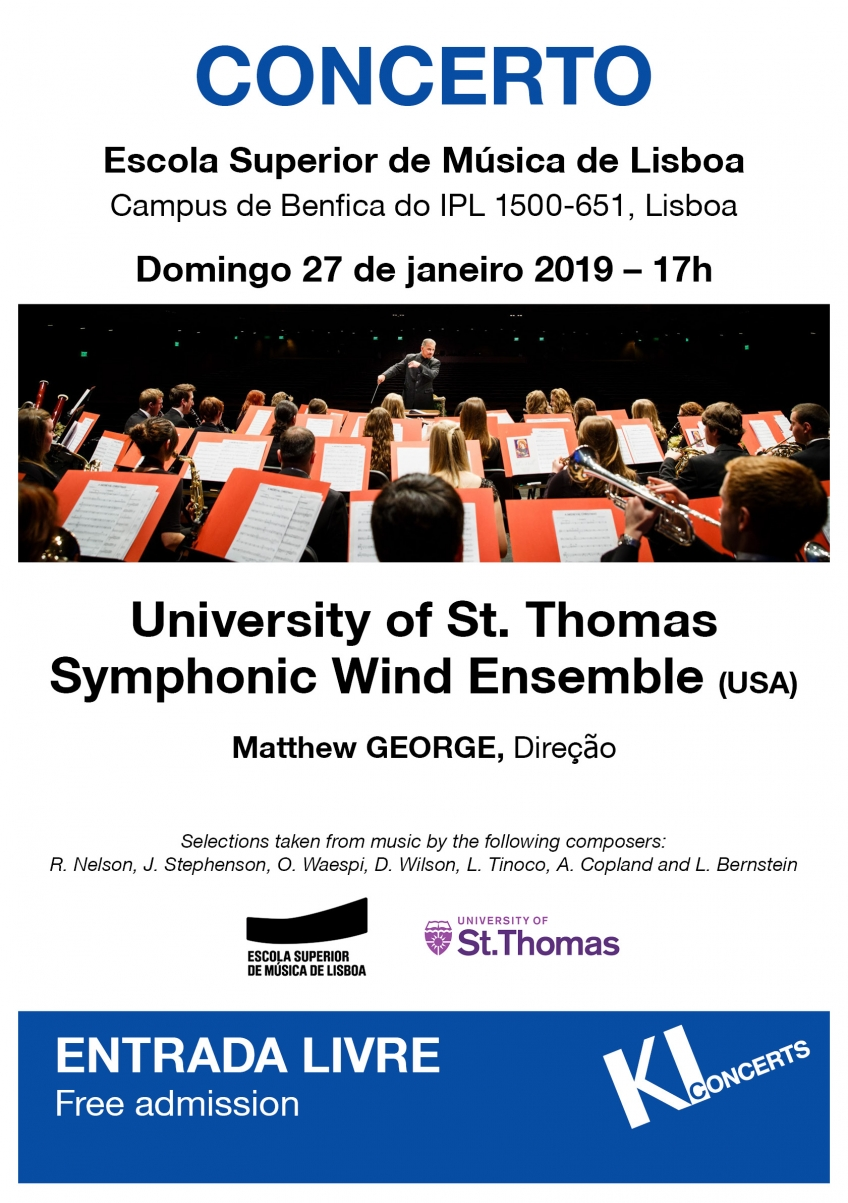 CONCERTO | University of St. Thomas Symphonic Wind Ensemble (EUA)
